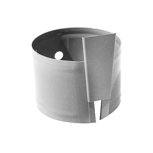 Крепление трубы анкерное (10*150 мм)  D-120 (Zn)